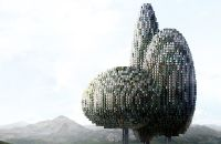 Tree-Tower: Skyscraper To Preserve All Tree Species