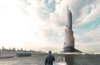 Vrysi Tower Cleans Waste From Rivers Before Reaching The Ocean
