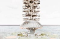 Geo-Matrix Towers Span Across Oceans To Connect The Planet