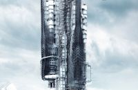 Offshore In-Flux Skyscraper  Reduces Gas Emissions Of Oil Platforms