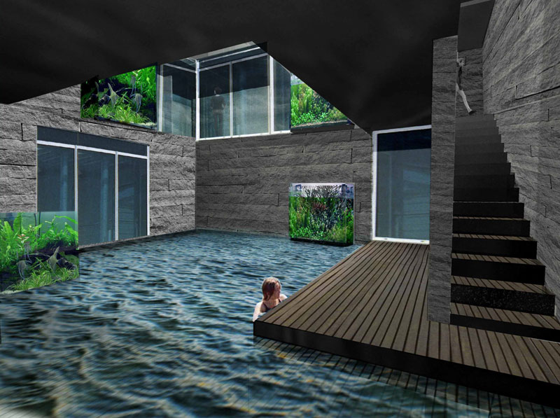 Well city underground architecture evolo for Underground house design