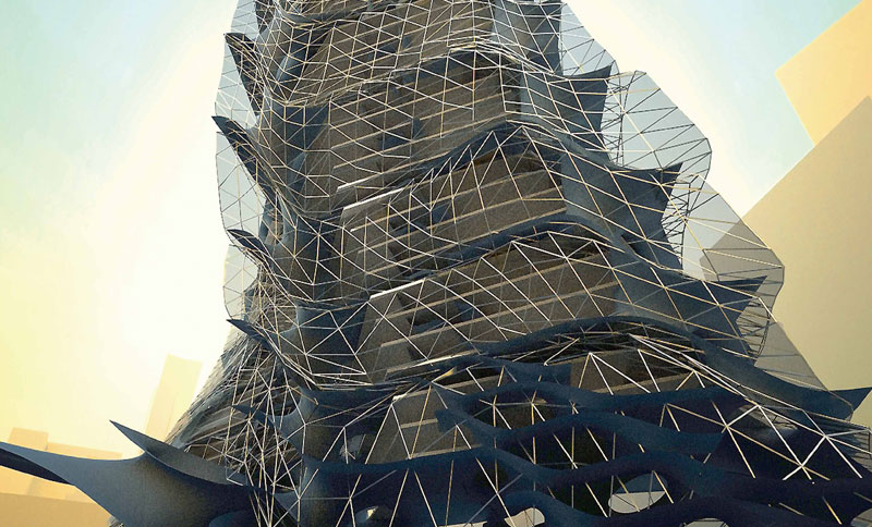 Parametric Skyscraper in Beijing - eVolo | Architecture Magazine