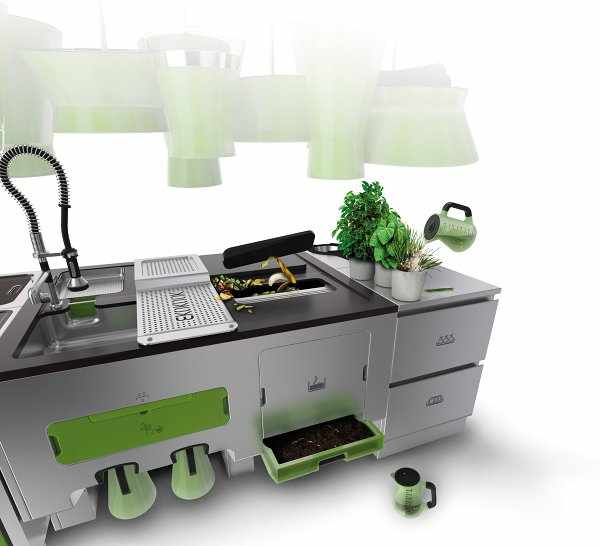 Ekokook – Green Kitchen Of The Future - Evolo | Architecture Magazine