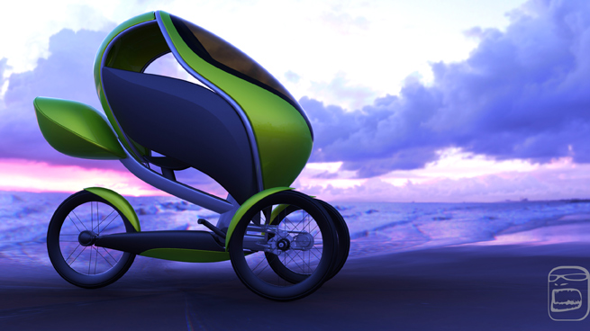 Car Transport Cost >> TrikE: An Electric-assist aerodynamic bike with weather ...