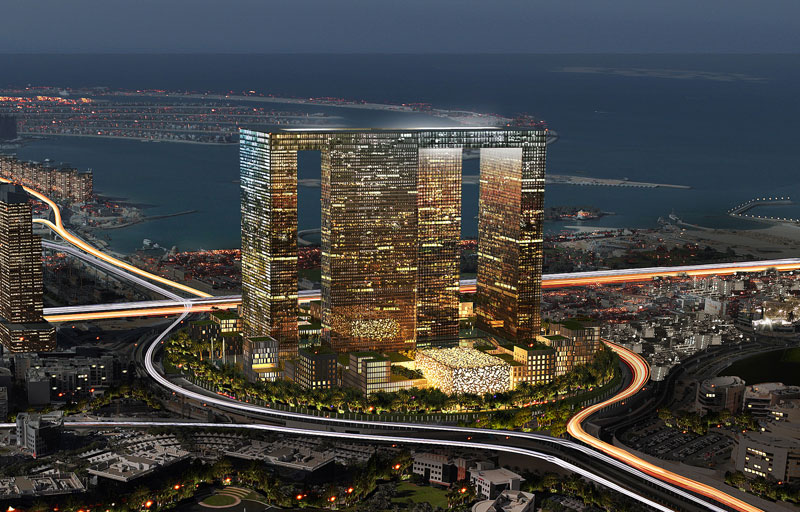 Dubai Pearl / Schweger Architects