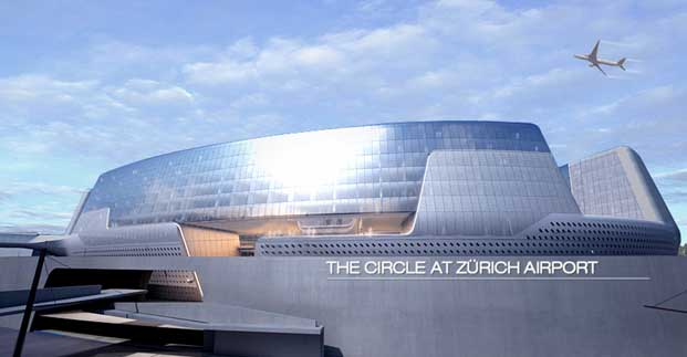 The circle at zurich airport by asymptote architecture for Architecture zurich