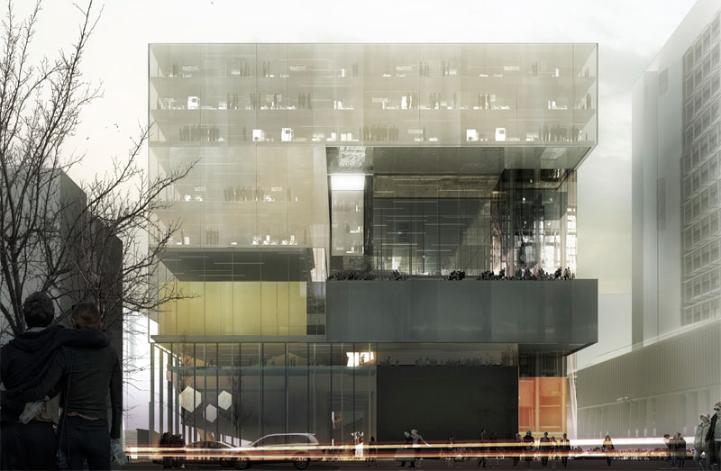 Zaha hadid oma and diller scofidio finalists for the - Oma office for metropolitan architecture ...