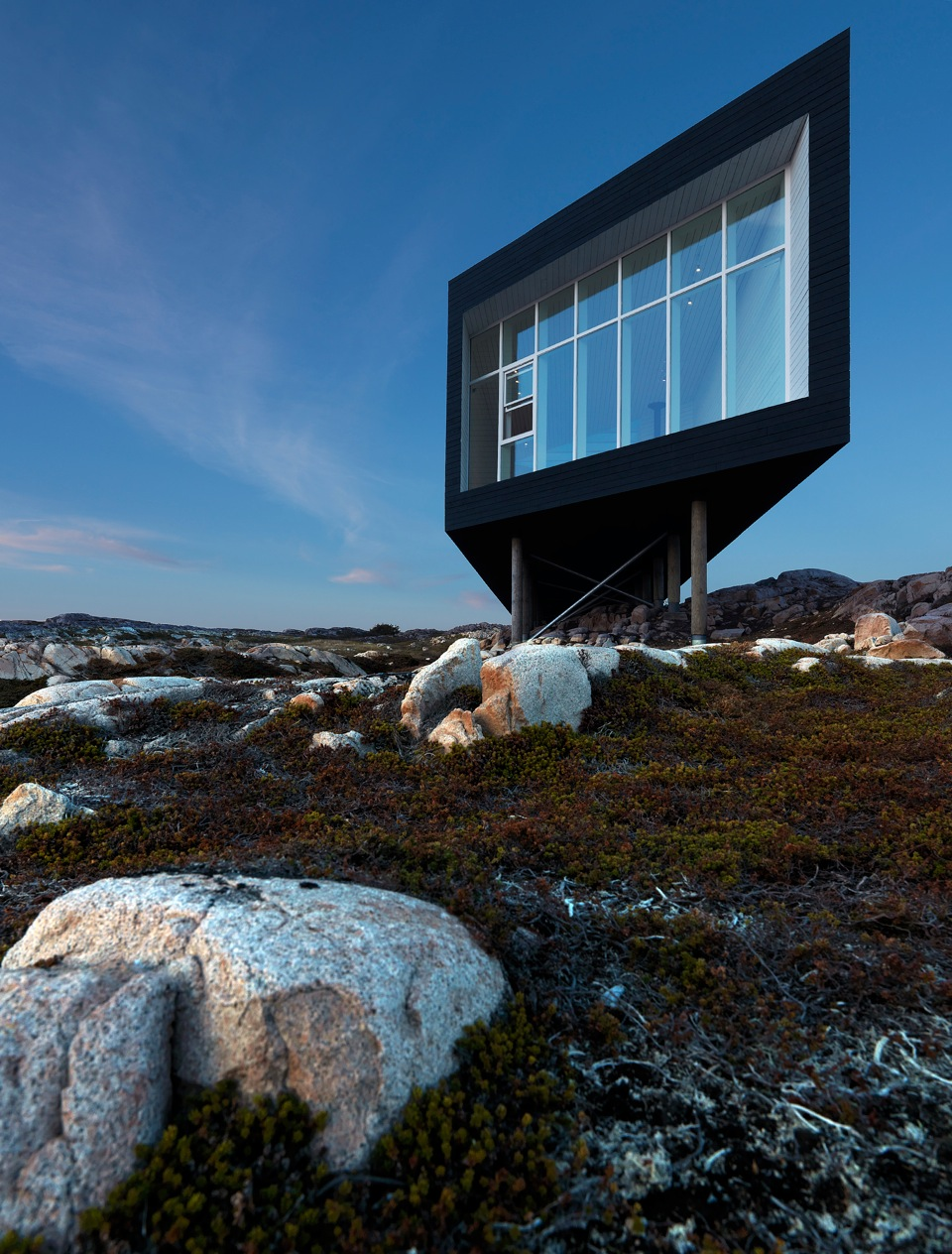 how to fly to fogo island