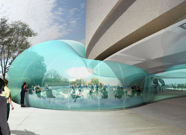 Inflatable Expansion To The Hirshhorn Museum Diller