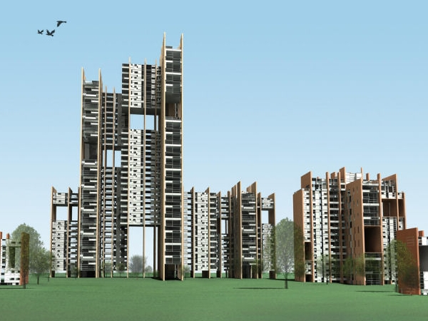 Greater noida housing project fxfowel architects evolo for Architecture design for home in noida