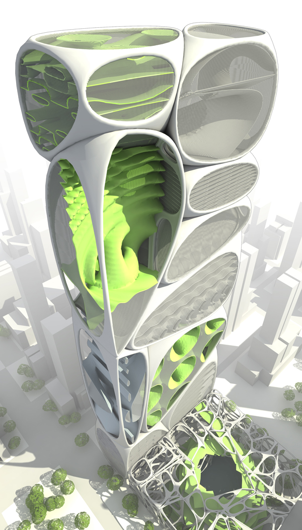 Reflecting nature through design after design has Architecture nature