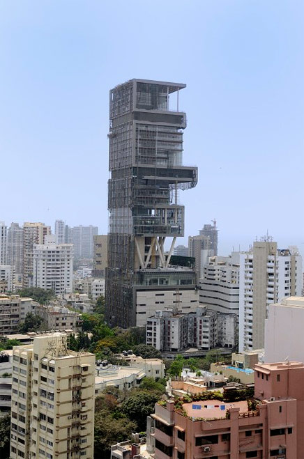 One Billion Dollar House Completed In Mumbai India