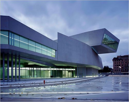Maxxi museum wins world building of the year at 2010 world for Modern buildings in the world