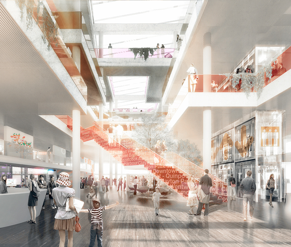 Canadian And Danish Styling To Bring Fresh Library Design To