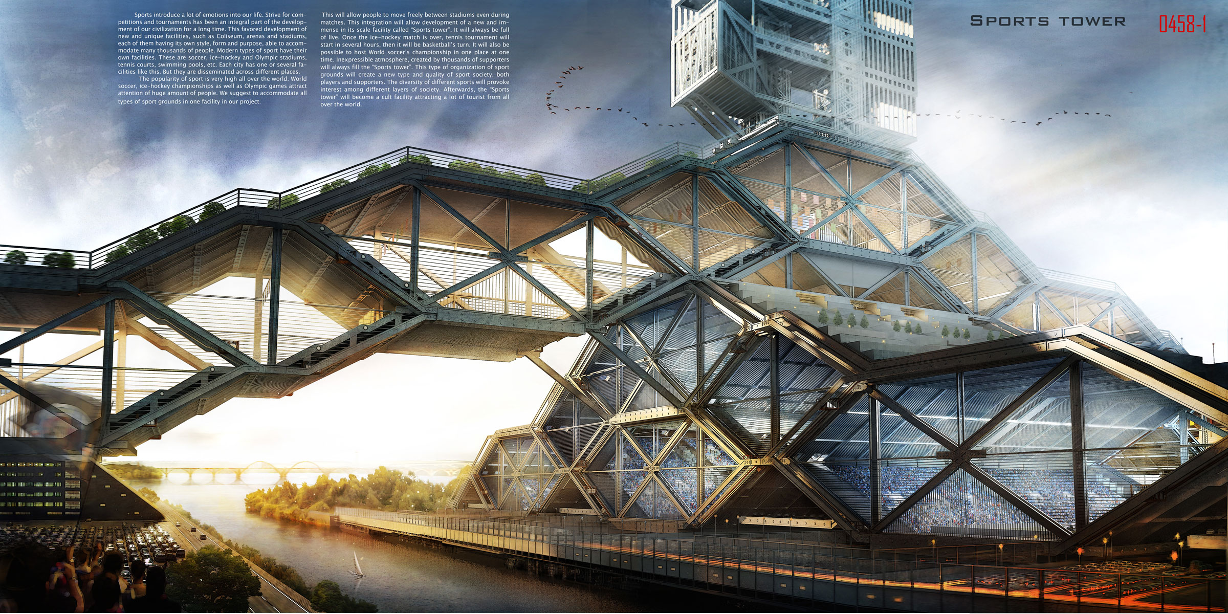 Sports tower evolo architecture magazine for Deck architecture
