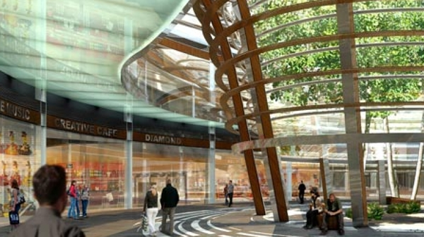 Underground Shopping Mall In Mexico City Kmd Architects