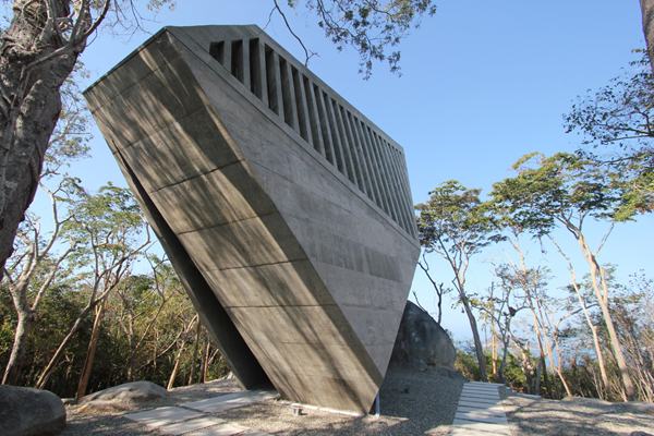 Award Winning Mexican Firm BNKR Arquitectura Just Completed A Stunning Chapel That Overlooks The Famous Acapulco Bay In Mexico