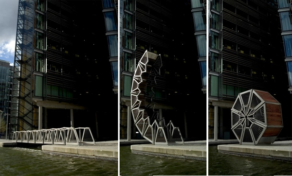 rolling bridge thomas heatherwick   evolo architecture