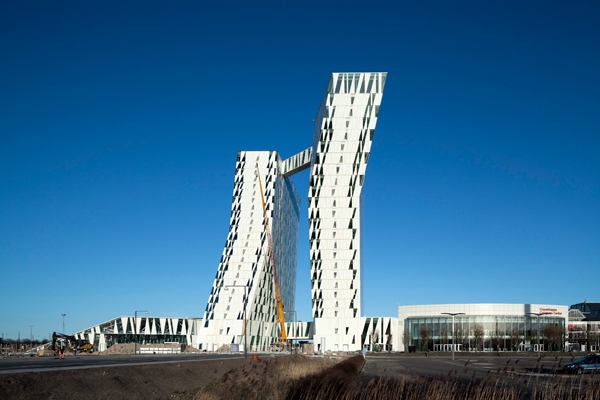 3xn designed bella sky hotel to be a new landmark on for Design hotel kopenhagen