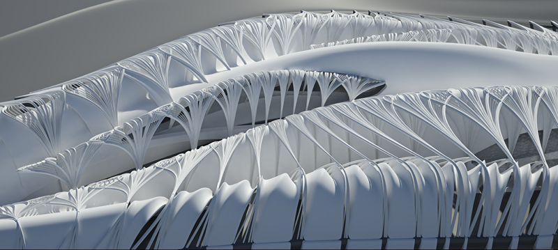 Parametric Design Studies On Novel Interiorities For