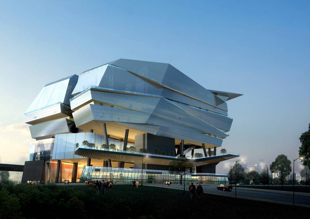 Cool modern architecture page 90 skyscraperpage forum for National centre for the performing arts architecture
