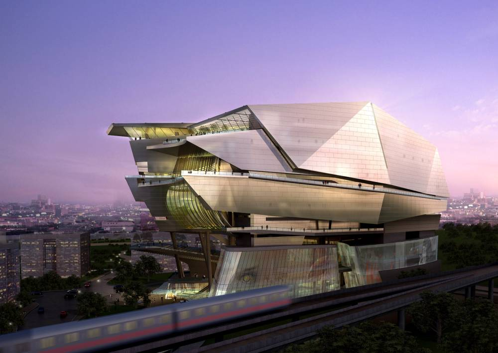 Star performing art center aedas limited evolo for Architecture art