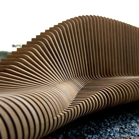 New parametric urban street furniture for hong kong Wood architecture definition