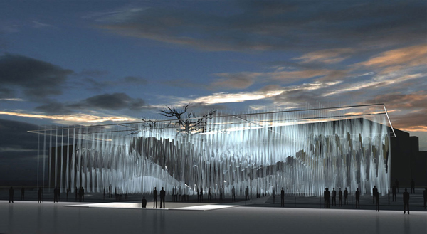 """Dreaming >> 3D-DREAMING """"Architecture from a digital point of view"""": Freedom Monument is a moving memorial ..."""