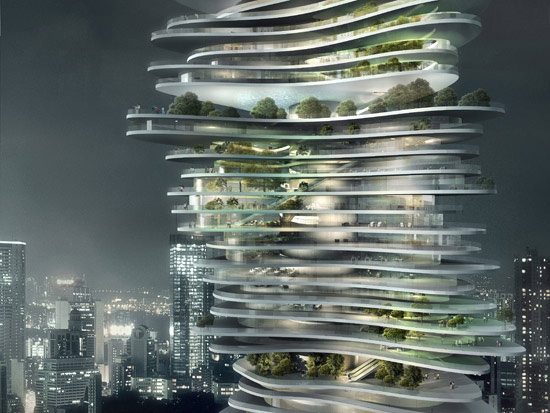 Urban Forest Mad Architects Evolo Architecture Magazine