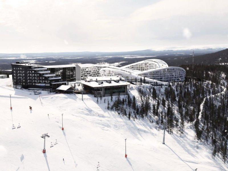 Ski resort in lapland big evolo architecture magazine for Ski designhotel