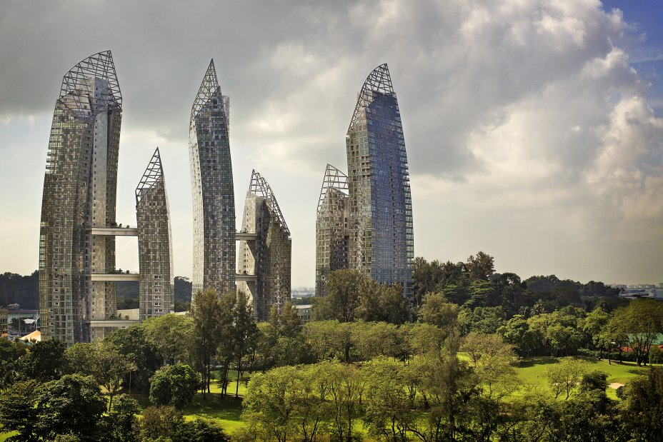 New Contemporary Housing By Daniel Libeskind In Keppel Bay