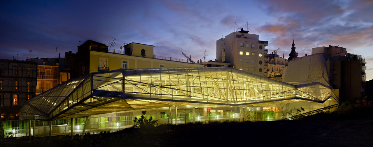 Architecture review 21st century roof for molinete roman - Arquitectura cartagena ...
