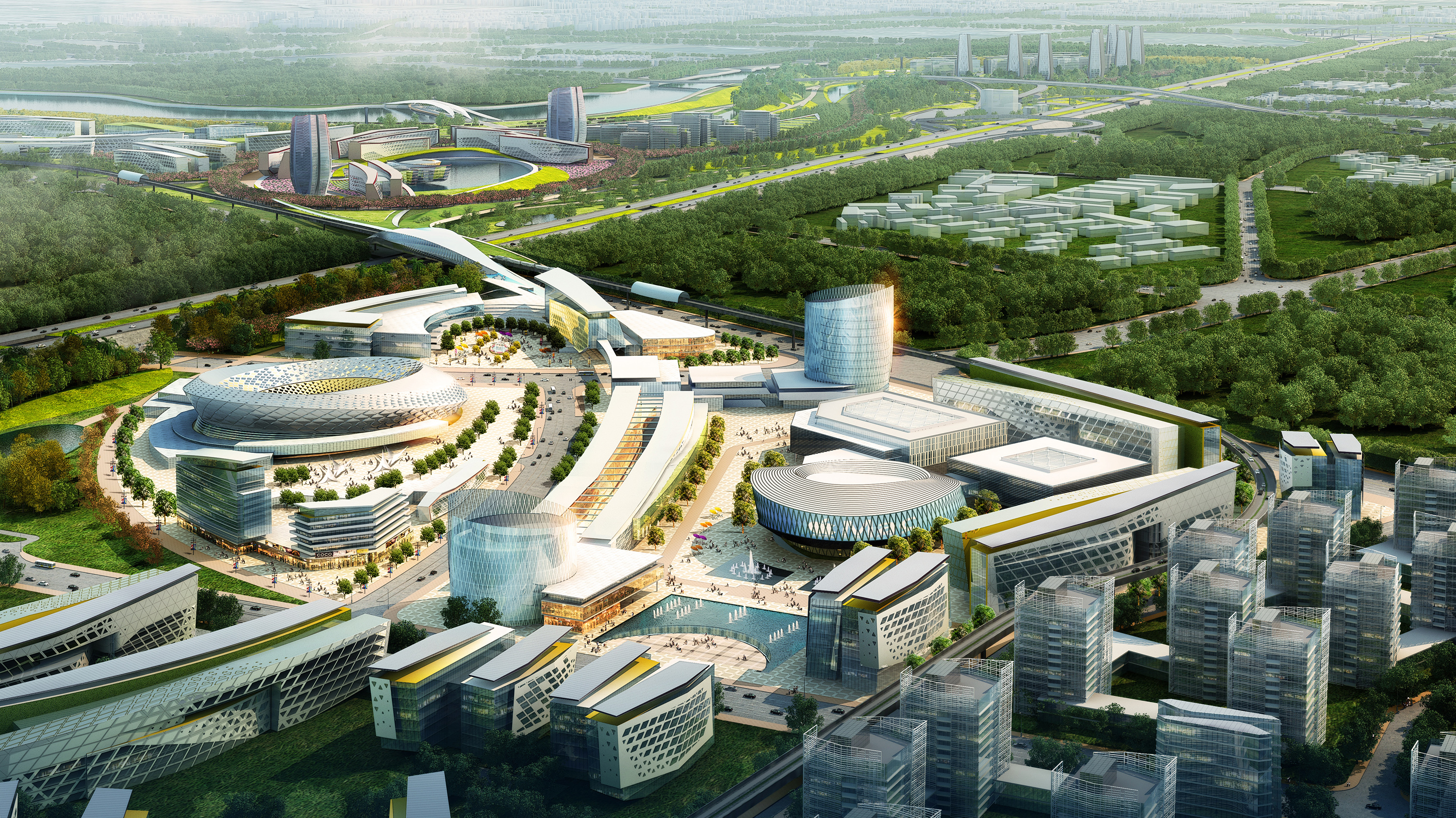 China southern airport city woods bagot evolo - China southern airlines guangzhou office ...