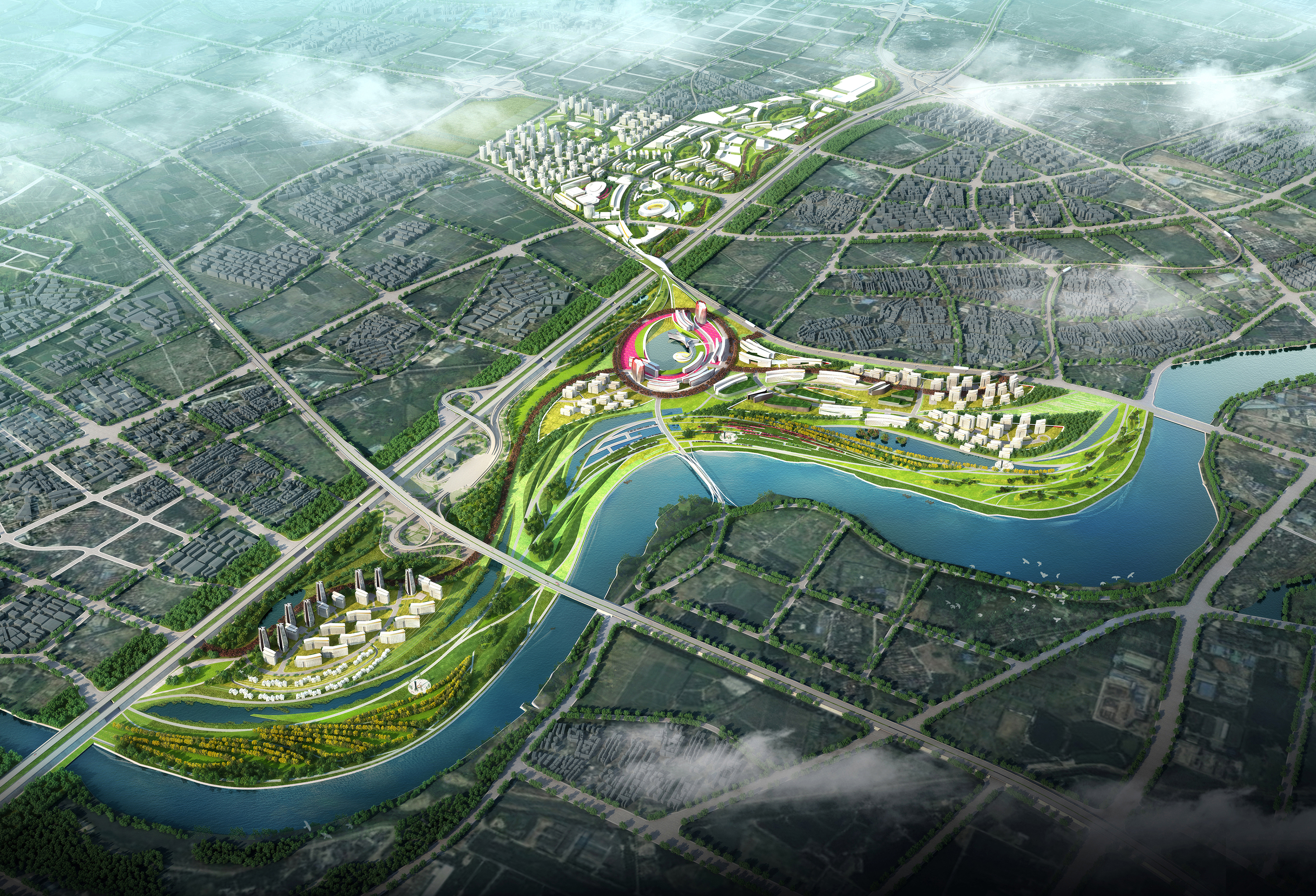 China southern airport city woods bagot evolo for Design in the city
