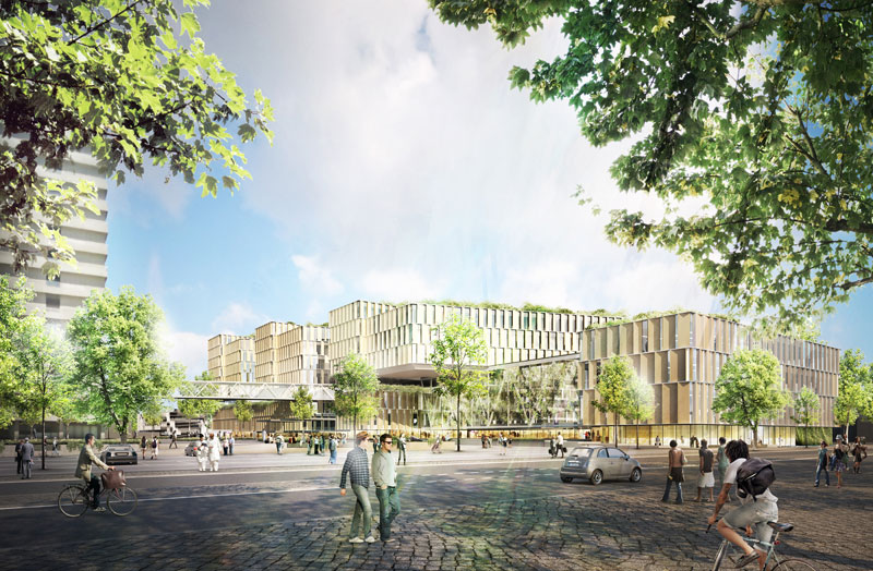 Main Hospital Of Copenhagen 3xn Evolo Architecture