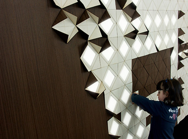 Wall Structure Design Images : Light form is a modular lighting system evolo