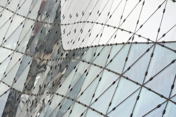 Funneled Glass Void Creates Vertical City In Myzeil