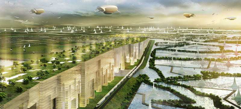 Water city of the future shma evolo architecture for Architecture 2050