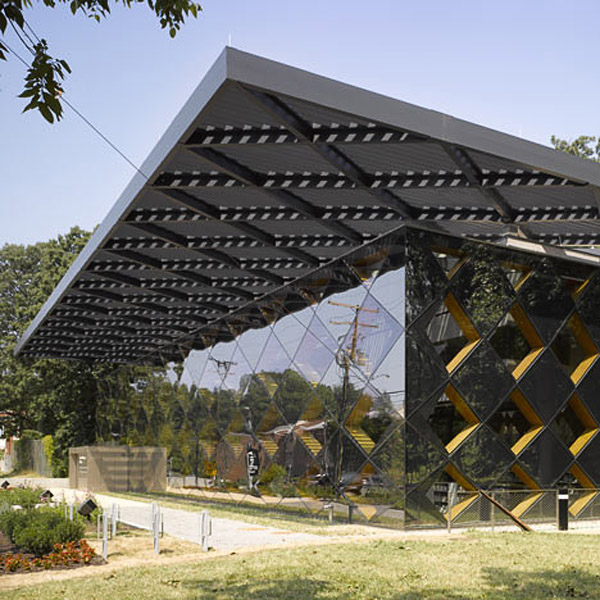 Francis Gregory Library, David Adjaye Architects, geometric facade, library design