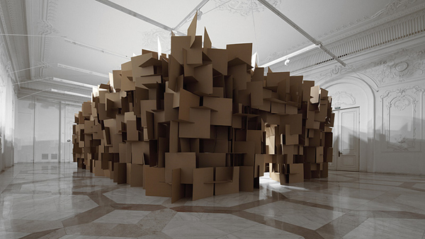 Sound sculptures architecturally derived instruments of