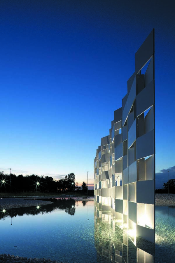 CCCloud Kengo Kuma, art istallation, ceramic tiles, casalgrande padana, kengo kuma architects
