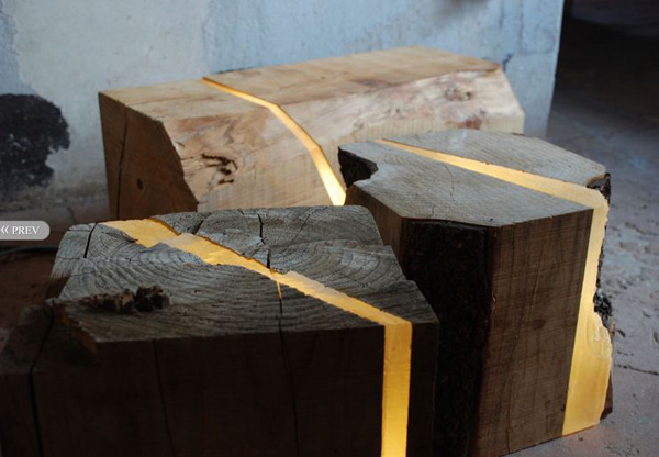 Repurposed Wood Used To Create Light Filled Furniture Evolo Architecture Magazine