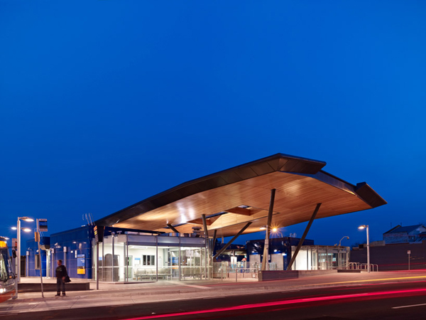 Nunawading Station, Grimshaw Architects, rail station,public transportation, canopy
