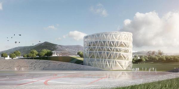 Piazza d'Armi Urban Park, Modostudio, public park, multi-use building, urban design