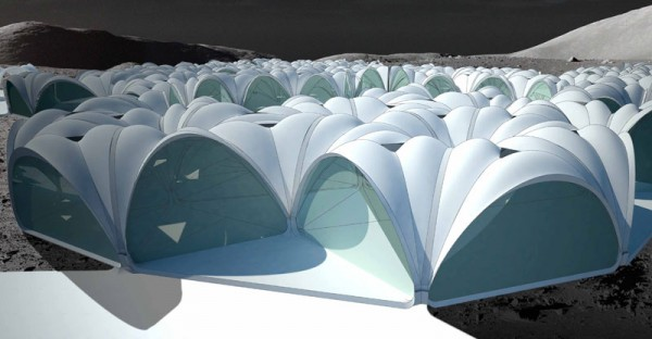 Architecture review parametric designed performative for Outer space architecture design