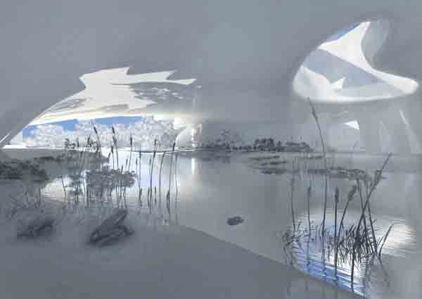Eathquake-Disaster-Prevention-Center CRAB Studio, prevention center, turkey, disaster prevention, architecture competition