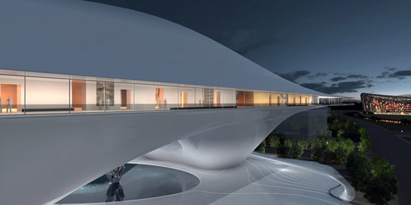 National Art Museum Of China Proposal Mad Architects