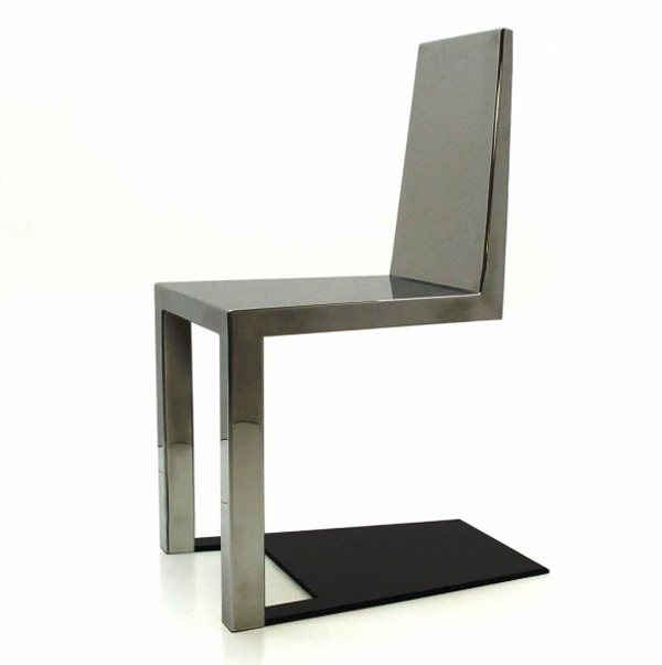 Shadow Chair Collection Duffy London, op art, chair design, seating structure design, furniture design