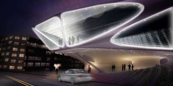 SDA (Synthesis Design+Architecture), Daegu Gosan Library, architecture competition, cultural buildings, computational design, digital architecture, cnc machines, library design, library competition, Otto Frei