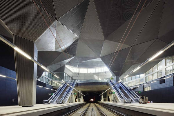 Logroño High Speed Train Station, Logroño Abalos Sentkiewicz Arquitectos, railway station, city architecture, underground architecture